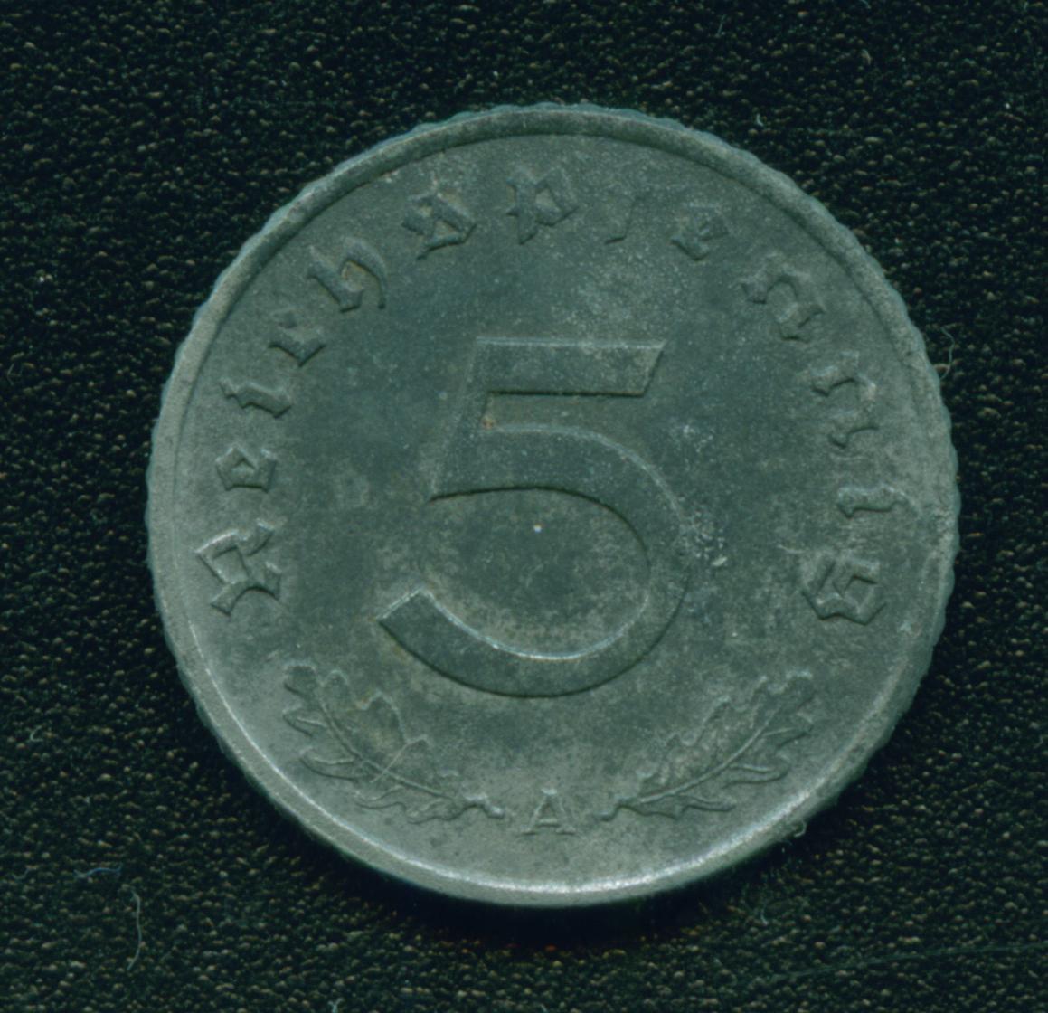 Немецкая монета 1940 года цена со свастикой юбилейные американские центы